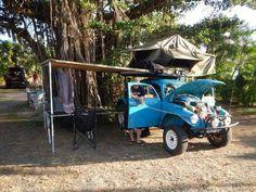 Baja Bug Tent Topped Adventuring!