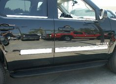 Chrome 4 inch Body Side Molding Cover for 2007 and up Avalanche