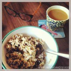 Quick Activated Walnut Breakfast Cereal