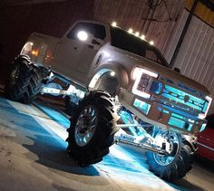 jacked up truck accessories Lifted Chevy Trucks, Ford Pickup Trucks, Jeep Truck, Gmc Trucks, Diesel Trucks, Cool Trucks, Ford Diesel, Camo Truck, Lifted Dodge
