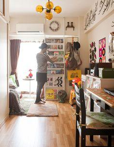 display books, albums, art FLAT ask Ian to build/hang cleats