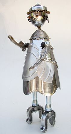 hazel roboto ready for kitchen duty by Lockwasher, via Flickr