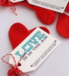 Cute Valentine's Day gift idea for school kids from eighteen25. So inexpensive and easy to make. #Avery