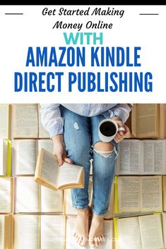 There are a lot of different ways you can make money from home with Amazon, their KDP program is one of the many work at home options. Find out how you can get started making money online. Sell Books On Amazon, Home Business Organization, Good Books, Books To Read, Legitimate Work From Home, Ebooks Online, Home Based Business, Business Ideas, Best Selling Books