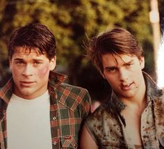 Sodapop and Steve, they're looking real tough here...