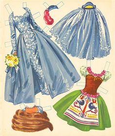 3 Ice Skating Dolls Merrill 1960 m – Bobe – Picasa Nettalbum Paper Dolls Book, Vintage Paper Dolls, Pretty Outfits, Beautiful Outfits, Paper Art, Paper Crafts, Diy Paper, Paper Dolls Printable, Bobe