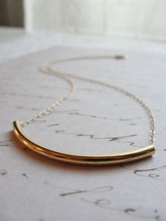 I've always wanted a simple necklace like this. $28.00