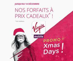 Grosses réductions sur 3 forfait sans engagement de Virgin Mobile. Les tarifs sont à partir de 1,99€/mois valables sur 12 mois. La mise à disposition de la SIM coûte 1€.