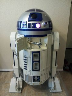 -maybe for a guy's bday party or some nerdy get together? Not that I can think of any reason to get one of these but it is still pretty awesome! -R2F2f custom kegerator