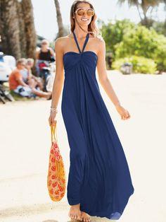 Maxi Bra Top Dress - Victoria's Secret on Wanelo