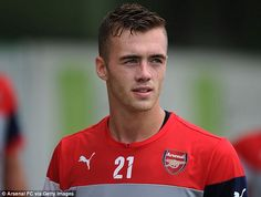 Long-term: Wenger plans to convert new signing Calum Chambers into a central defender...