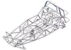 Haynes roadster chassis - SOLIDWORKS,STL - 3D CAD model - GrabCAD