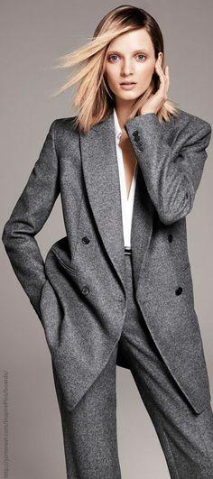 Love the long jacket.