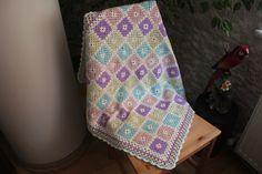 bebek battaniyesi //  crochet blanket