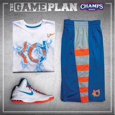 KD White and Blue