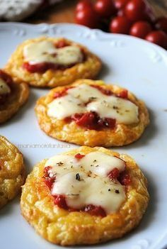 pizzas potato recipes with potatoes (In Italian)