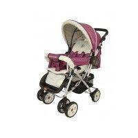 Carucior Patricia cu maner reversibil purpuriu Baby Strollers, Sport, Children, Blog, Baby Prams, Young Children, Deporte, Boys, Excercise