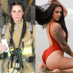 - Firefighter   My name is Presley, I'm 26 and I'm a firefighter paramedic living in the Big Sky Country (Montana) I'm a… Firefighter Paramedic, Female Firefighter, Foto E Video, Photo And Video, Big Sky Country, My Name Is, Montana, Curves, Beautiful Women