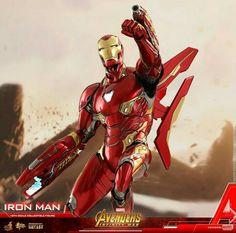 Iron Man Exodus hot toys collectible figurine