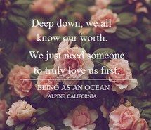 roses, deep, worth, truly, love, being as an ocean, quote, lyrics, music, beautiful
