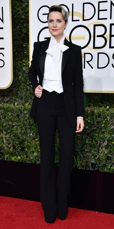 All the Glamorous Looks from the 2017 Golden Globes Red Carpet - 2017 Golden Globes Evan Rachel Wood - Slide from InStyle.com