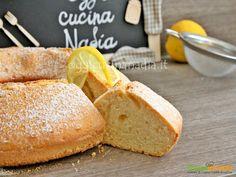 Ciambella al limone senza lattosio  #ricette #food #recipes
