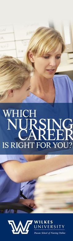 Choose your nursing career path with Wilkes University! Nursing scholarships available.