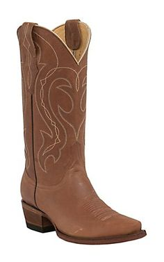 Cavender's by Old Gringo Women's Wild Tan Goat Snip Toe Western Boots | Cavender's