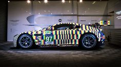 Aston Martin's latest racer will mess with your eyeballs