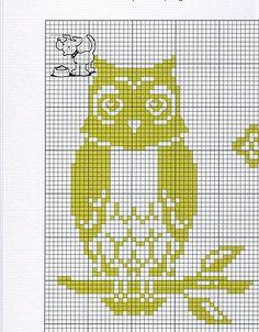 Gallery.ru / Photo # 3 - Sovushka / OWLS 3 - vikyska Cross Stitch Owl, Just Cross Stitch, Cross Stitch Designs, Cross Stitching, Cross Stitch Patterns, Filet Crochet Charts, Paper Owls, Felt Owls, Crochet Birds