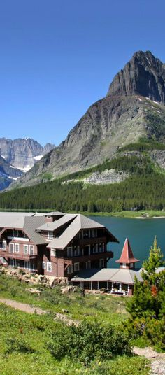 Many Glacier Lodge in Glacier National Park, Montana | visitglacierpark.com