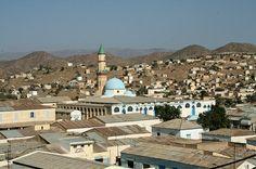 View of Keren Eritrea
