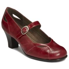 9c101cfe7a6a A2 by Aerosoles Marimba Mary Janes - Women Red Mary Jane Shoes