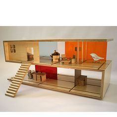 coffe table and dollhouse design Creative Coffee Table Design Convertible into a Doll House [Video] Dollhouse Design, Wooden Dollhouse, Dollhouse Toys, Dollhouse Miniatures, Vintage Dollhouse, Modern Dollhouse Furniture, Miniature Furniture, Coffee Table Design, Coffe Table