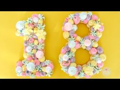 Number Cake | Alphabet Cake | How to Make Cream Tart - YouTube