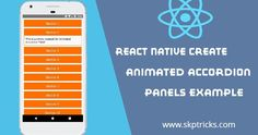 React Native Create Animated Accordion Panels using Layout Animation All Codes, Web Design, React Native, Create Animation, Make You Feel, Web Development, Feel Better, Nativity, Software