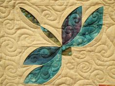 Dragonfly quilt block