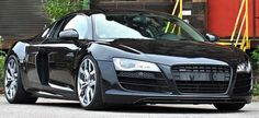 2013 Ok-Chiptuning Audi R8 Phantom Black Panther: 5.2 Liter V10 with 620 Horsepower. 0 to 60 mph in 3.7 seconds. Top Speed of 198 mph.