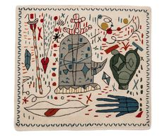 Spanish designer Jaime Hayon brings his signature vision to a whimsical collection of rugs for nanimarquina, which feature his quirky style of characters.