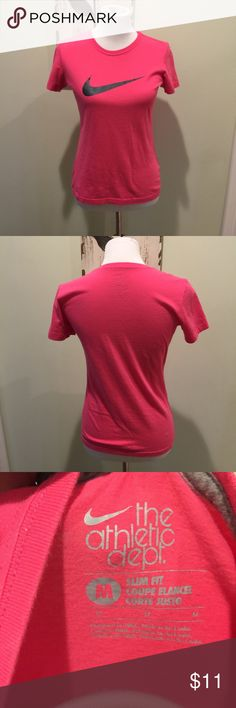 Nike Pink Crew T-Shirt Slim Fit The Athletic Dept. Awesome summer Nike T-Shirt. Nike Tops Tees - Short Sleeve