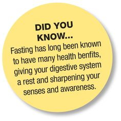 Fasting: Did You Know....?