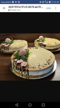Simple Cakes, Cake Day, Panna Cotta, Sweets, Foods, Fruit, Ethnic Recipes, Desserts, Food Cakes
