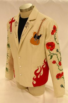 Gram Parsons Nudie Jacket - Nudie comes from the tailor who made the famous suits for the famous peeps
