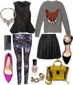 """""""Fashion Week"""" by cheetahisnb ❤ liked on Polyvore"""