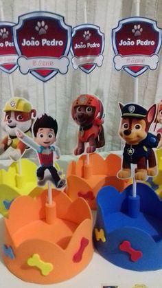 Original idea de decoración para fiesta de cumpleaños de la Patrulla Canina. #party#fiesta #PatrullaCanina