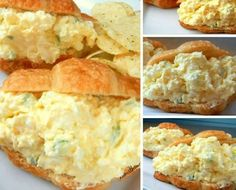 Deluxe Egg Salad – Looking for an upgrade on the traditional egg salad? Try this Deluxe Egg Salad! It includes cream cheese, grated onions and is by far my favorite version of egg salad Ingredients : 2 Tablespoons butter, room temperature 3 oz cream cheese, room temperature 2 Tablespoons celery, minced 1 Tablespoon Mayo (or …