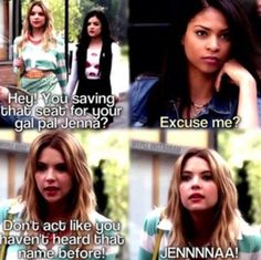 Hanna vs Shanna!    Hanna always has the balls to confront people    Pretty Little Liars