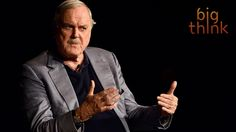 John Cleese - When Is it Okay to Steal Ideas? John Cleese Gives a Very Informed Answer. Lawrence Krauss, Is It Okay, Science Guy, Brave New World, Physicist, Conflict Resolution, Latest Books, You Must, Psychology