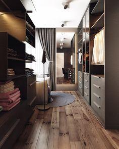 Nice closet! #closet #modern #apartment