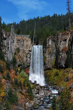 Tumalo Falls, Bend, Oregon. Hiked the falls this summer with my fam. Gorgeous!